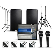PreSonus Complete PA Package with PreSonus StudioLive AR16 USB Mixer and Alto Truesonic 2 Series Powered Speakers