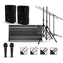 Mackie Complete PA Package with ProFX30v2 Mixer and Mackie Thump Series Speakers