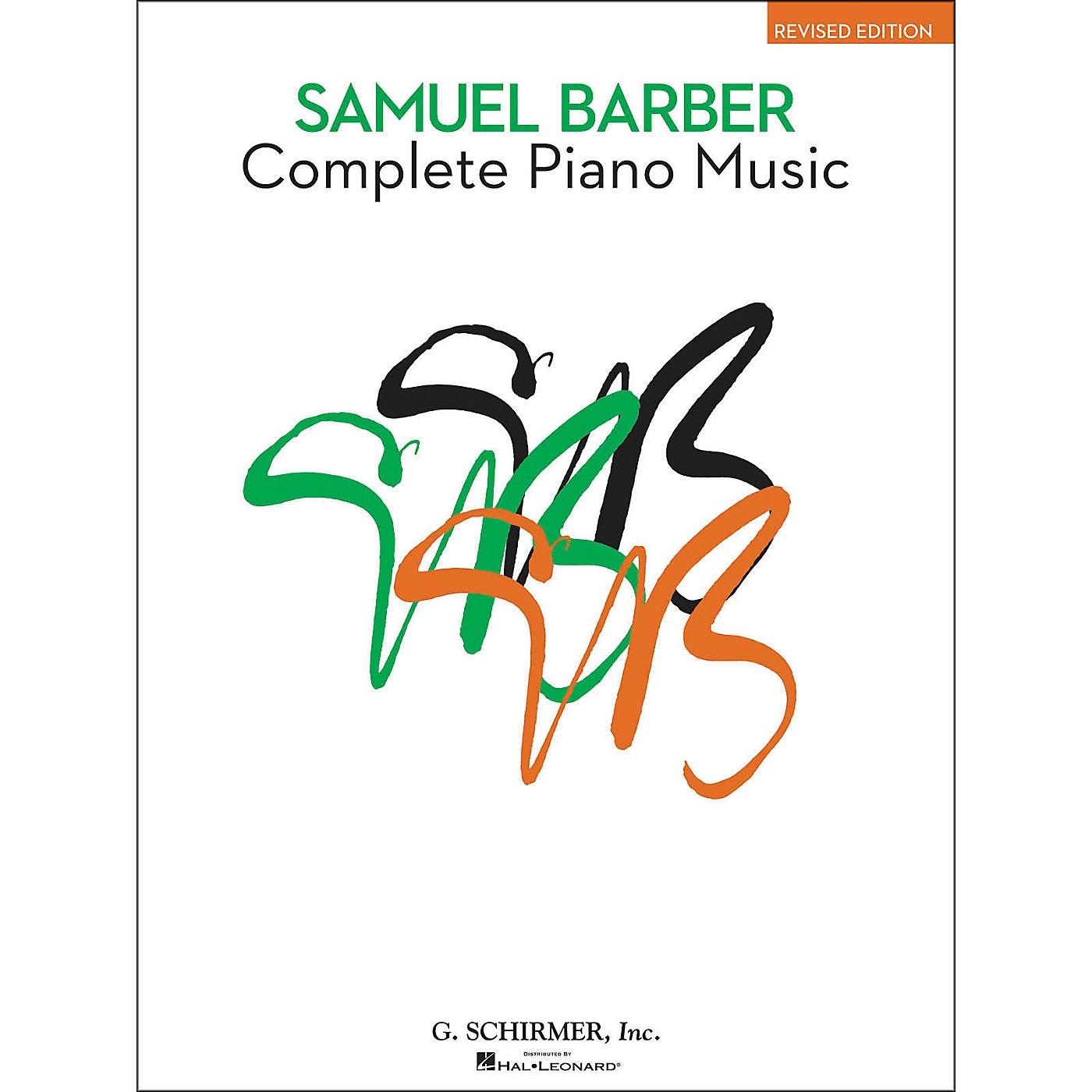 G. Schirmer Complete Piano Music Of Samuel Barber The American Composer Series By Barber thumbnail