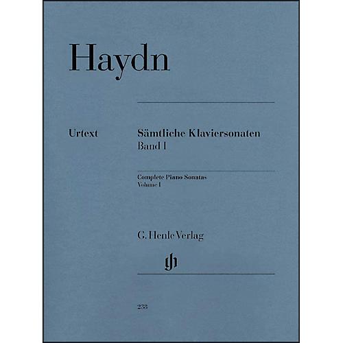 G. Henle Verlag Complete Piano Sonatas - Volume 1 By Haydn thumbnail