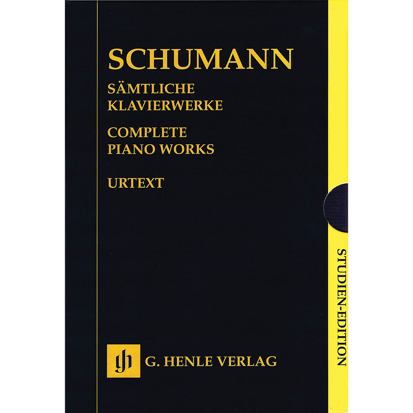 G. Henle Verlag Complete Piano Works - Boxed Set of Study Scores Henle Study Scores Series Softcover by Robert Schumann thumbnail