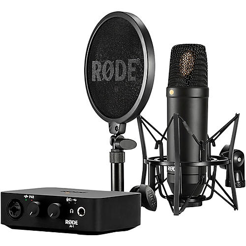 Rode Microphones Complete Studio Kit with NT1 Microphone and AI-1 Interface thumbnail