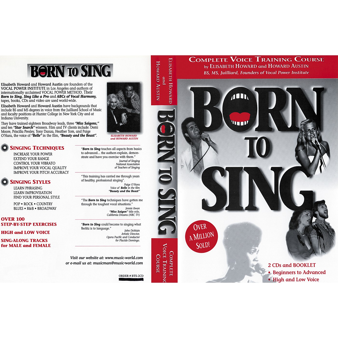 Born to Sing Complete Voice Training Course (Booklet + 2 CDs) thumbnail
