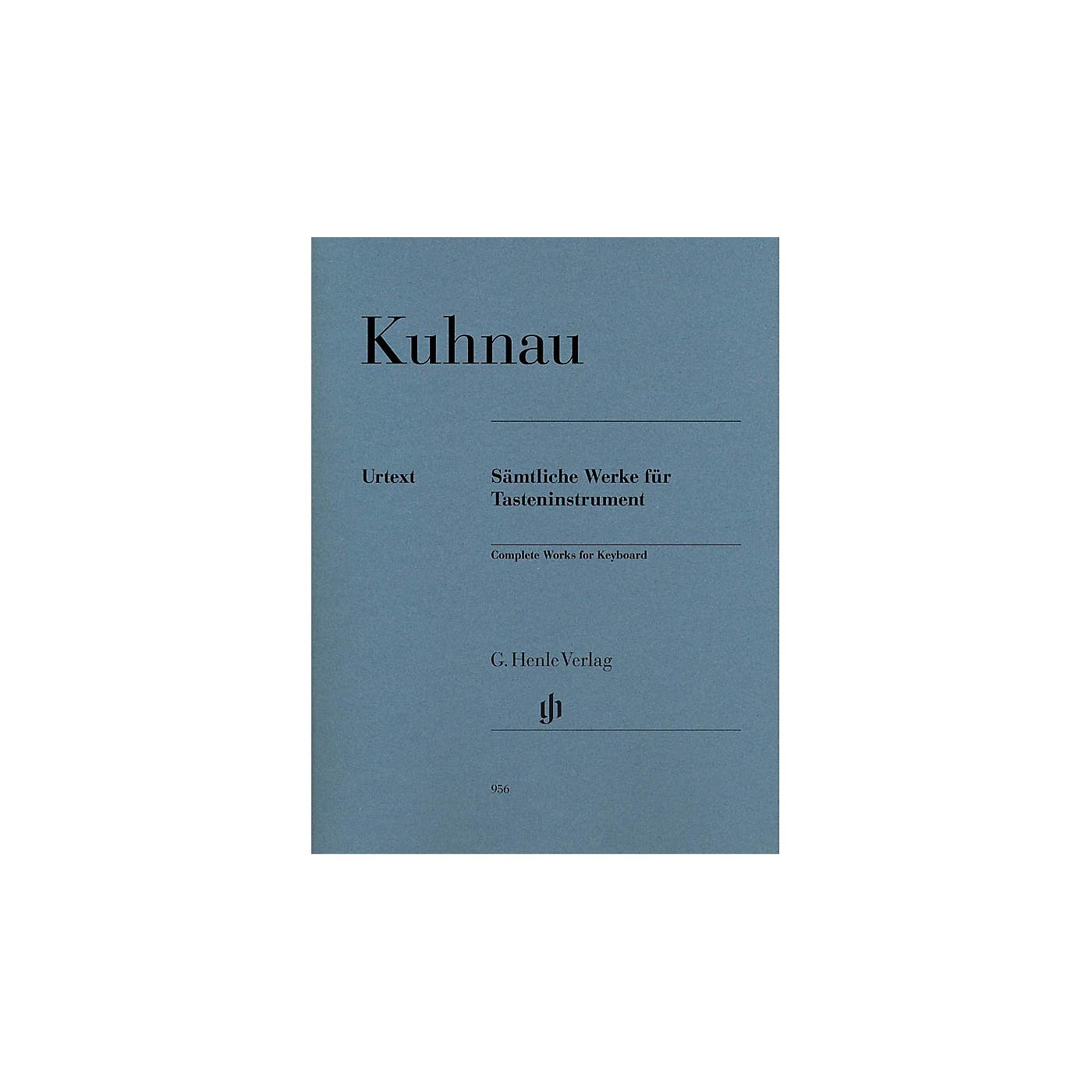 G. Henle Verlag Complete Works for Keyboard Henle Music Folios Series Softcover thumbnail