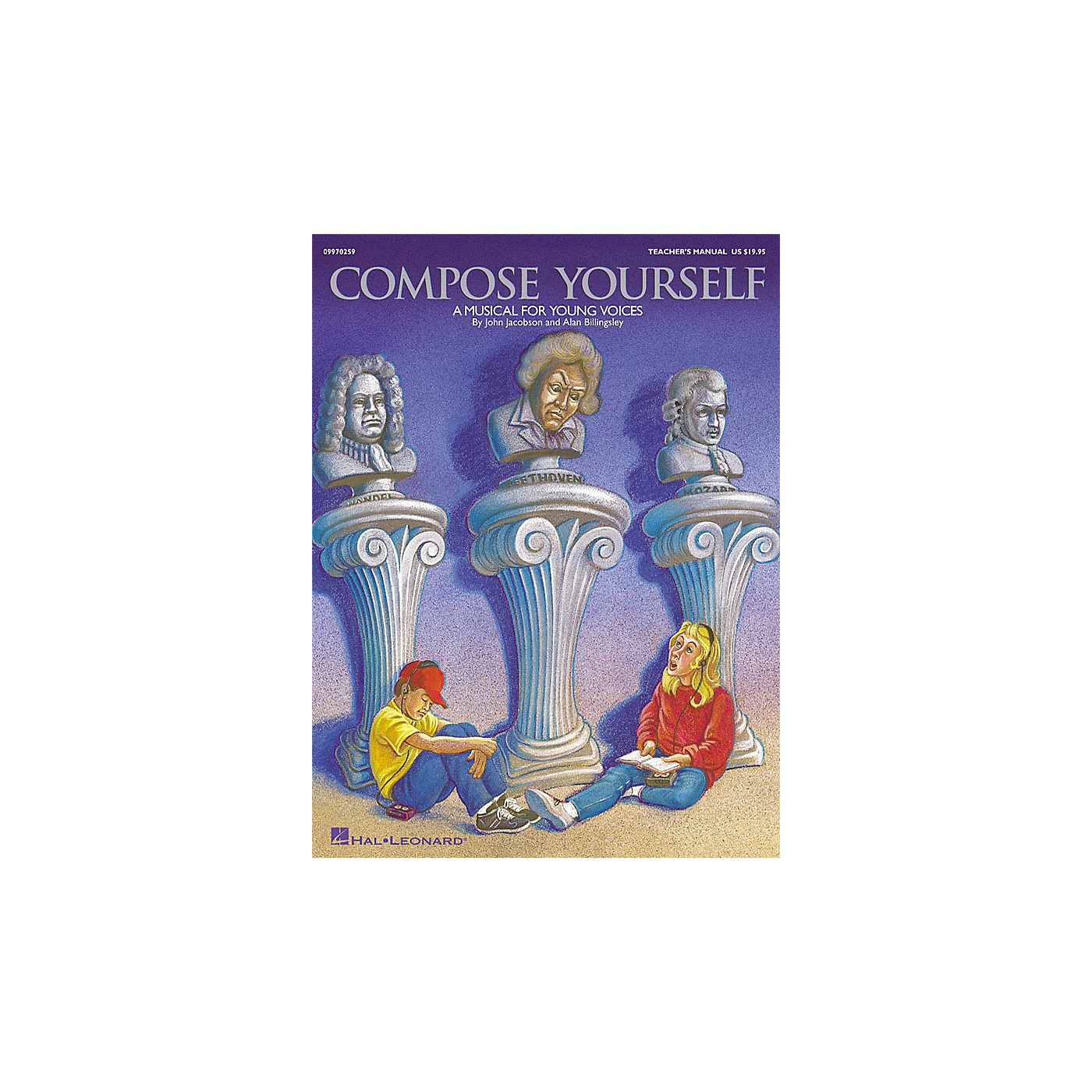 Hal Leonard Compose Yourself (Musical) (A Musical for Young Voices) TEACHER ED Composed by John Jacobson thumbnail