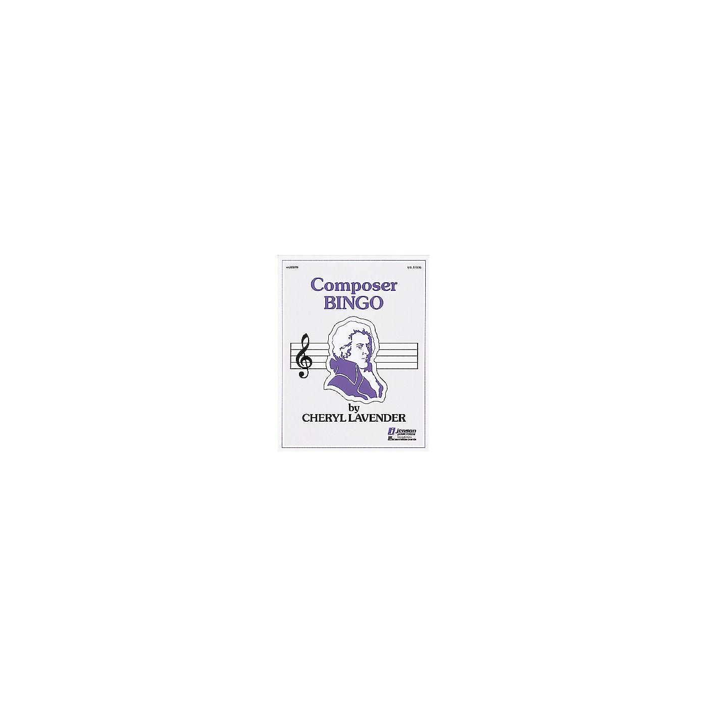 Hal Leonard Composer Bingo thumbnail