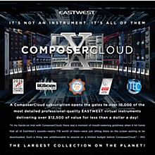 EastWest Composer Cloud X Yearly Subscription
