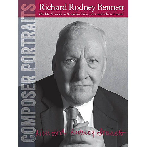 Wise Publications Composer Portraits: Richard Rodney Bennett Music Sales America Series Softcover thumbnail