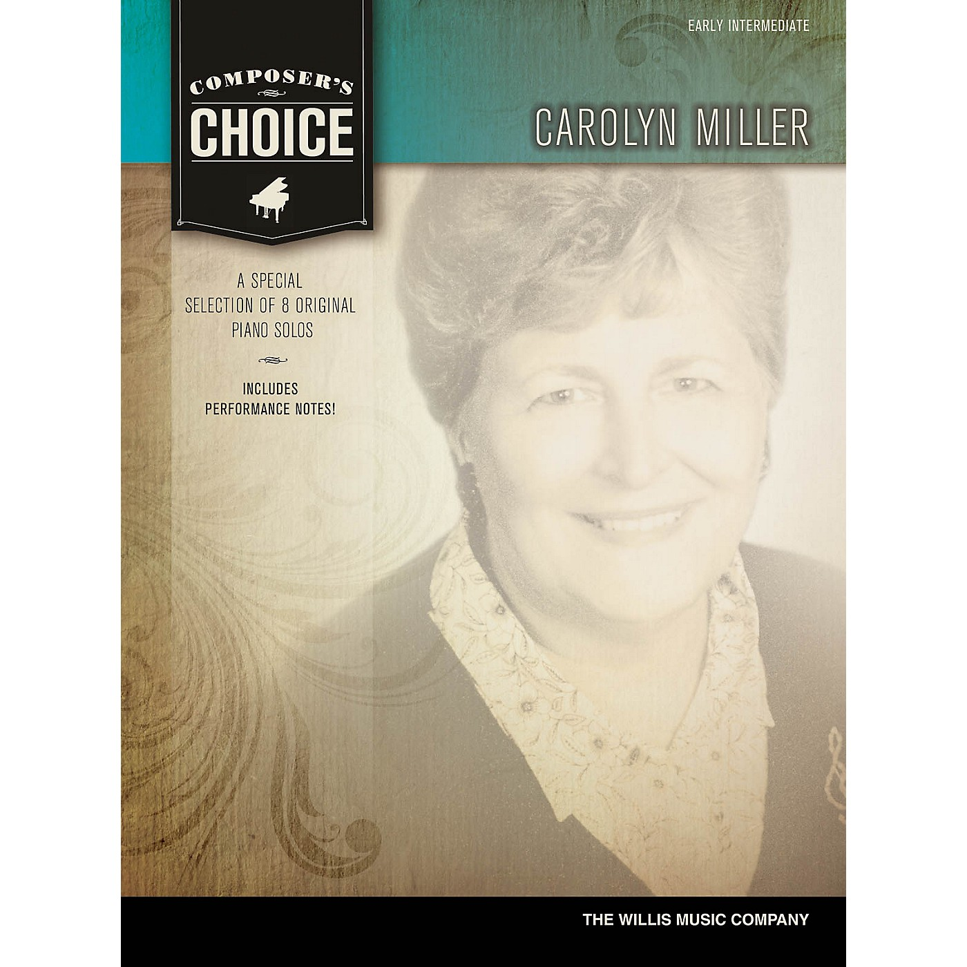 Willis Music Composer's Choice - Carolyn Miller (Early Inter Level) Willis Series by Carolyn Miller thumbnail
