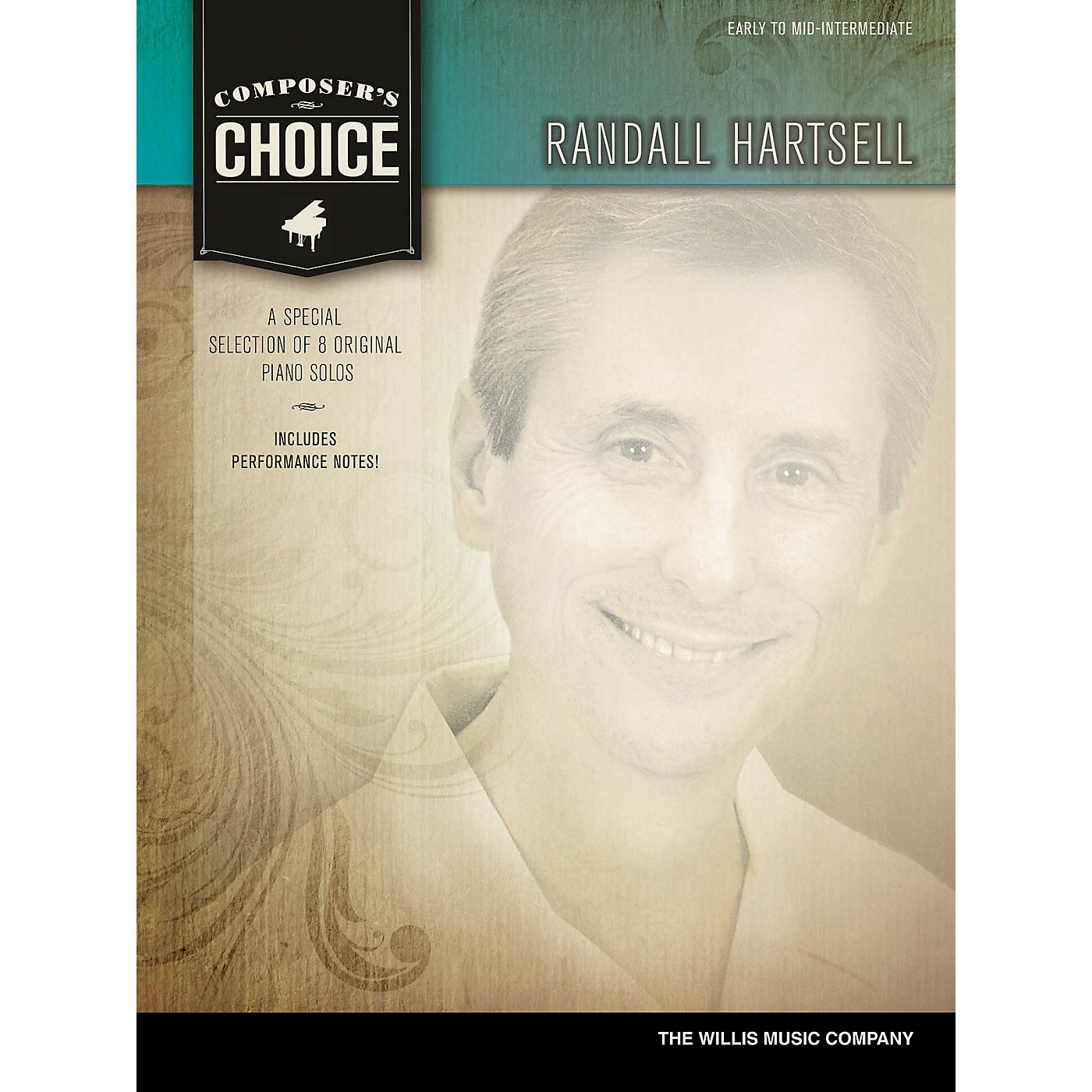Willis Music Composer's Choice - Randall Hartsell (Early to Mid-Inter Level) Willis Series by Randall Hartsell thumbnail