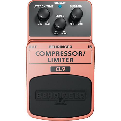 Behringer Compressor/Limiter CL9 Guitar Effects Pedal thumbnail