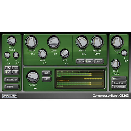McDSP CompressorBank HD v6 (Software Download) thumbnail