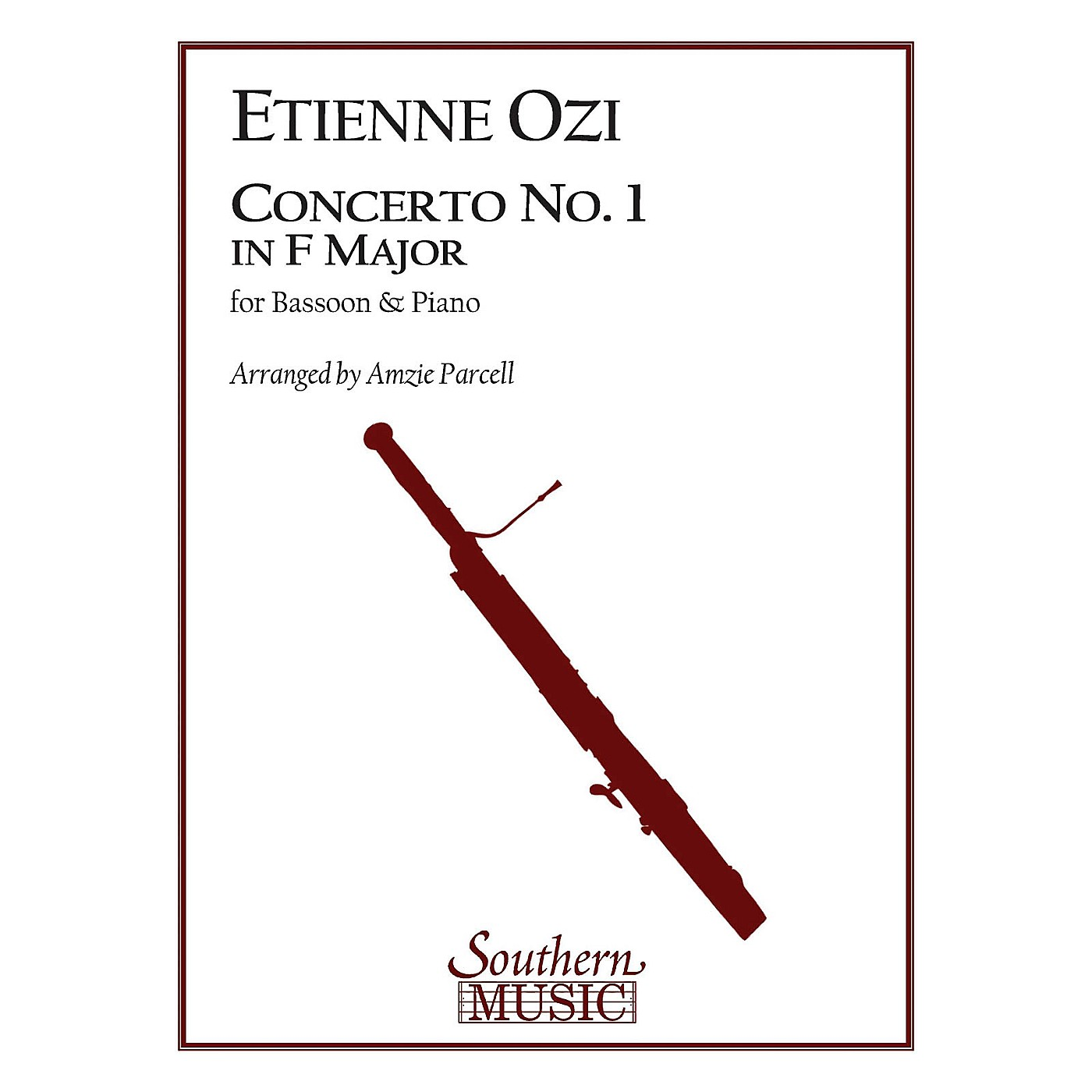 Southern Conc No 1 in F Maj (Bassoon) Southern Music Series Arranged by Amzie D. Parcell thumbnail