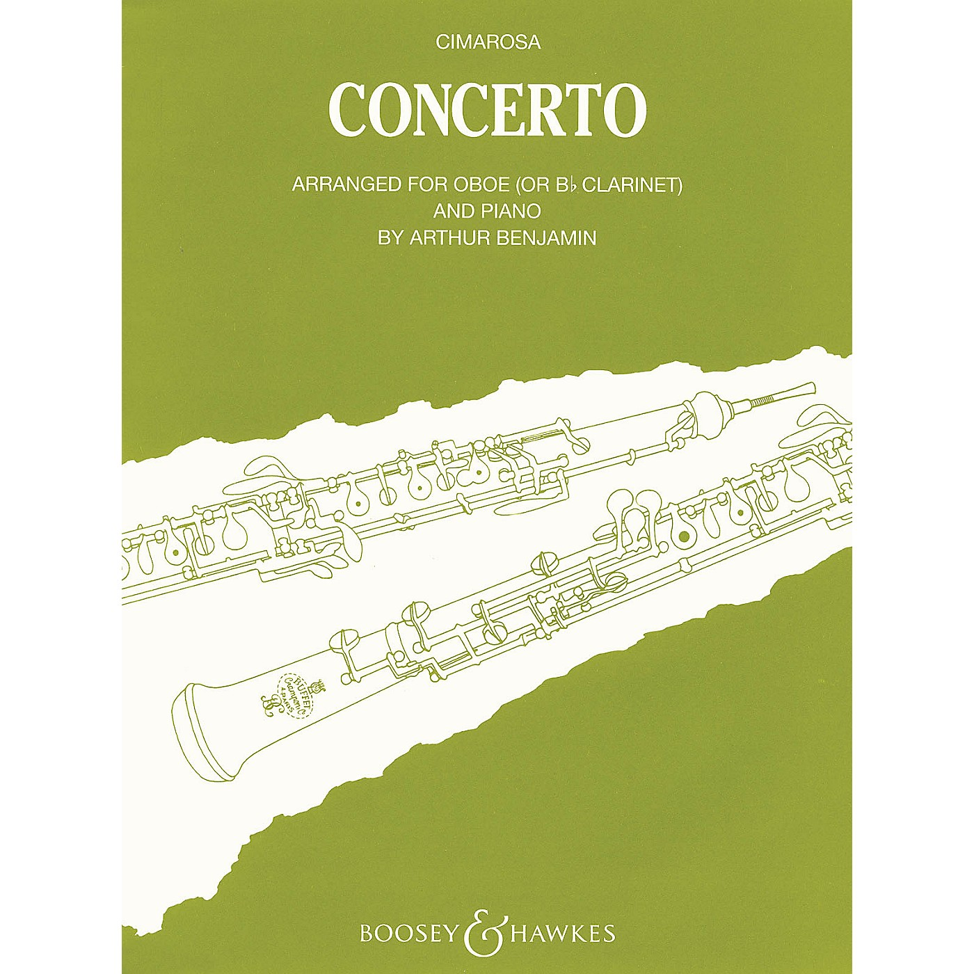 Boosey and Hawkes Conc (for Oboe & Piano Reduction) Boosey & Hawkes Chamber Music Series by Domenico Cimarosa thumbnail