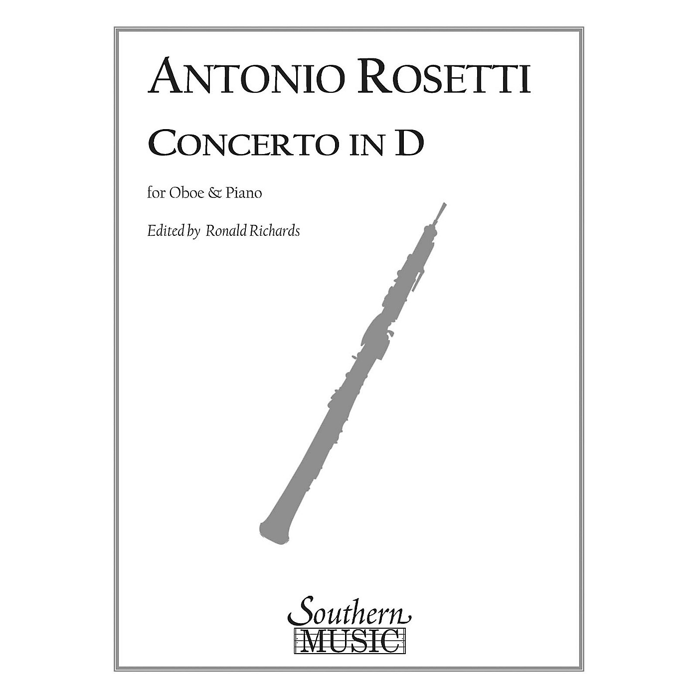 Southern Conc in D (Oboe) Southern Music Series Arranged by Ronald Richards thumbnail