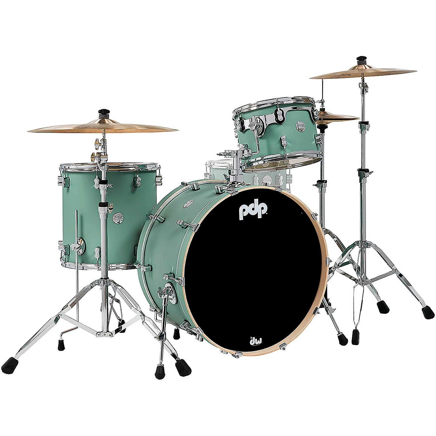 PDP by DW Concept Maple 3-Piece Rock Shell Pack with Chrome Hardware thumbnail
