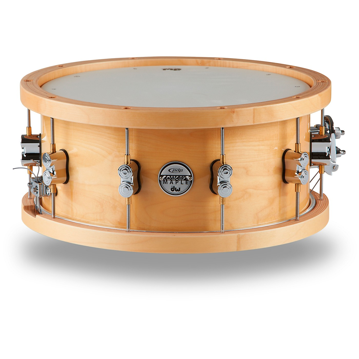 PDP by DW Concept Series 20-Ply Snare Drum with Wood Hoops thumbnail