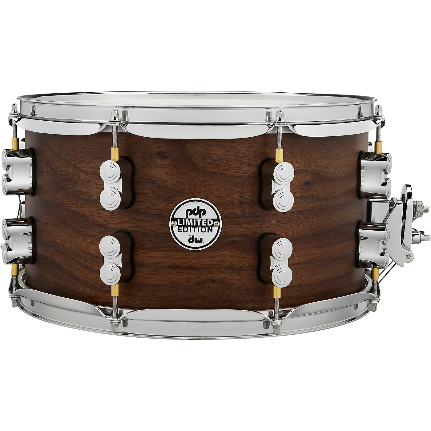 PDP by DW Concept Series Limited Edition 20-Ply Hybrid Walnut Maple Snare Drum thumbnail