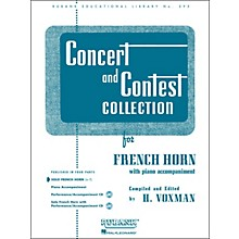 Hal Leonard Concert And Contest Collection French Horn In F Solo Part Only