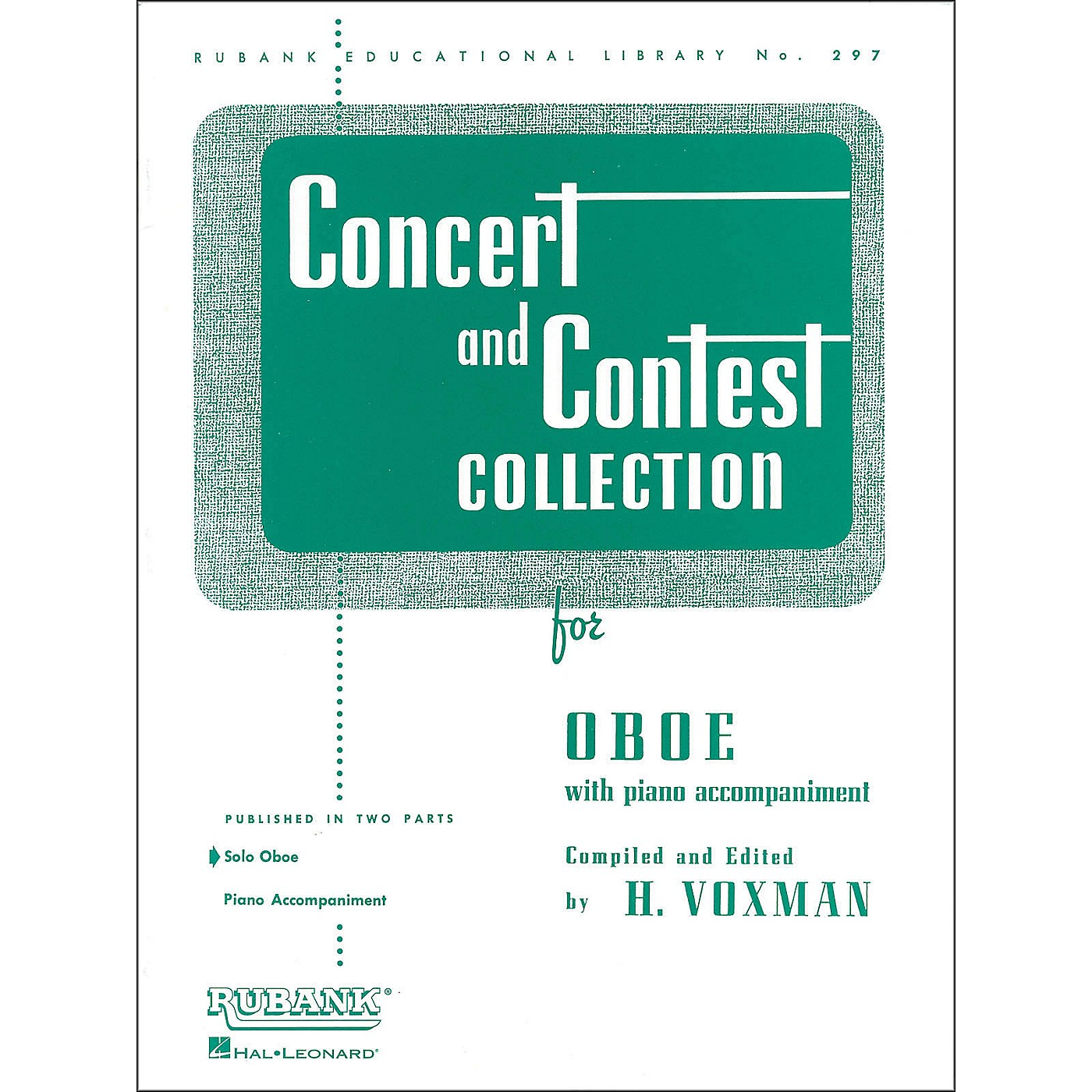 Hal Leonard Concert And Contest Collection Oboe Solo Part Only thumbnail