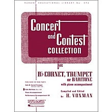Hal Leonard Concert And Contest Collection for Baritone B.C. Solo Part Only