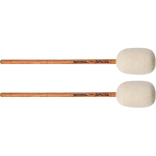 Innovative Percussion Concert Bass Drum Mallet - LIGHT ROLLERS (pair) thumbnail