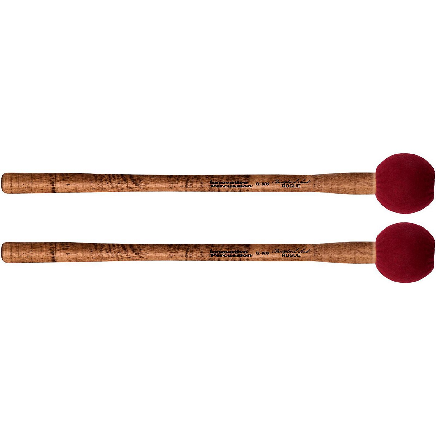 Innovative Percussion Concert Bass Drum Mallet – Rogue (pair) thumbnail