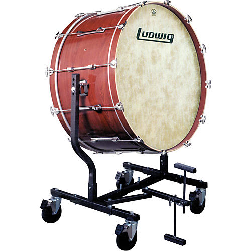 Ludwig Concert Bass Drum w/ Fiberskyn Heads & LE787 Stand thumbnail