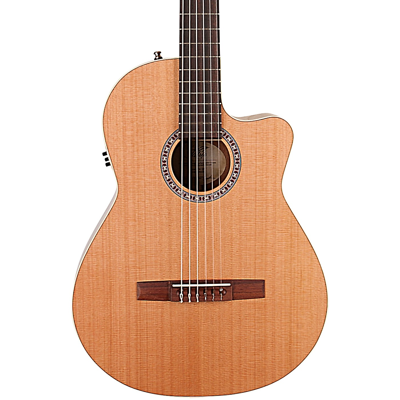 Godin Concert CW QIT Acoustic-Electric Nylon-String Guitar thumbnail
