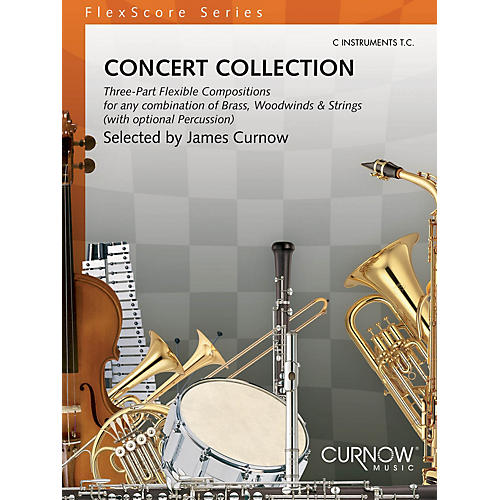 Curnow Music Concert Collection (Grade 1.5) (C Instruments TC) Concert Band Level 1.5 Composed by Various thumbnail