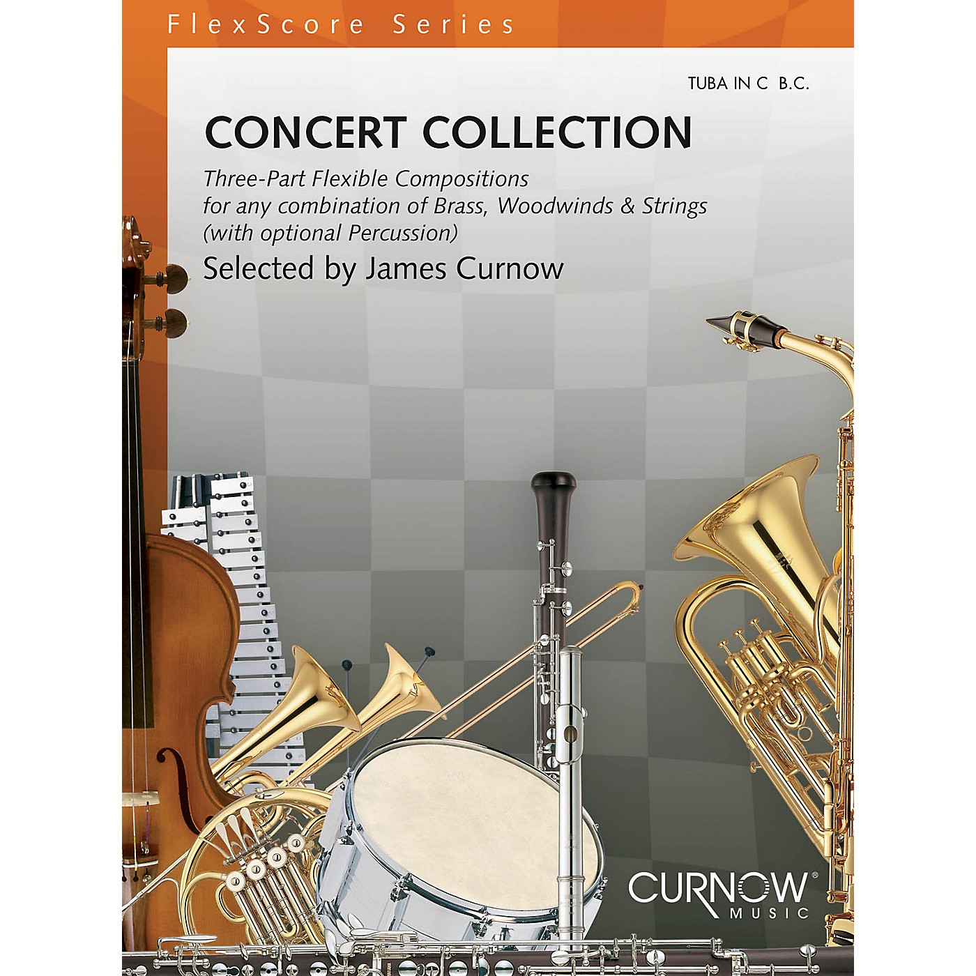 Curnow Music Concert Collection (Grade 1.5) (Tuba in C (B.C.)) Concert Band Level 1.5 Composed by Various thumbnail