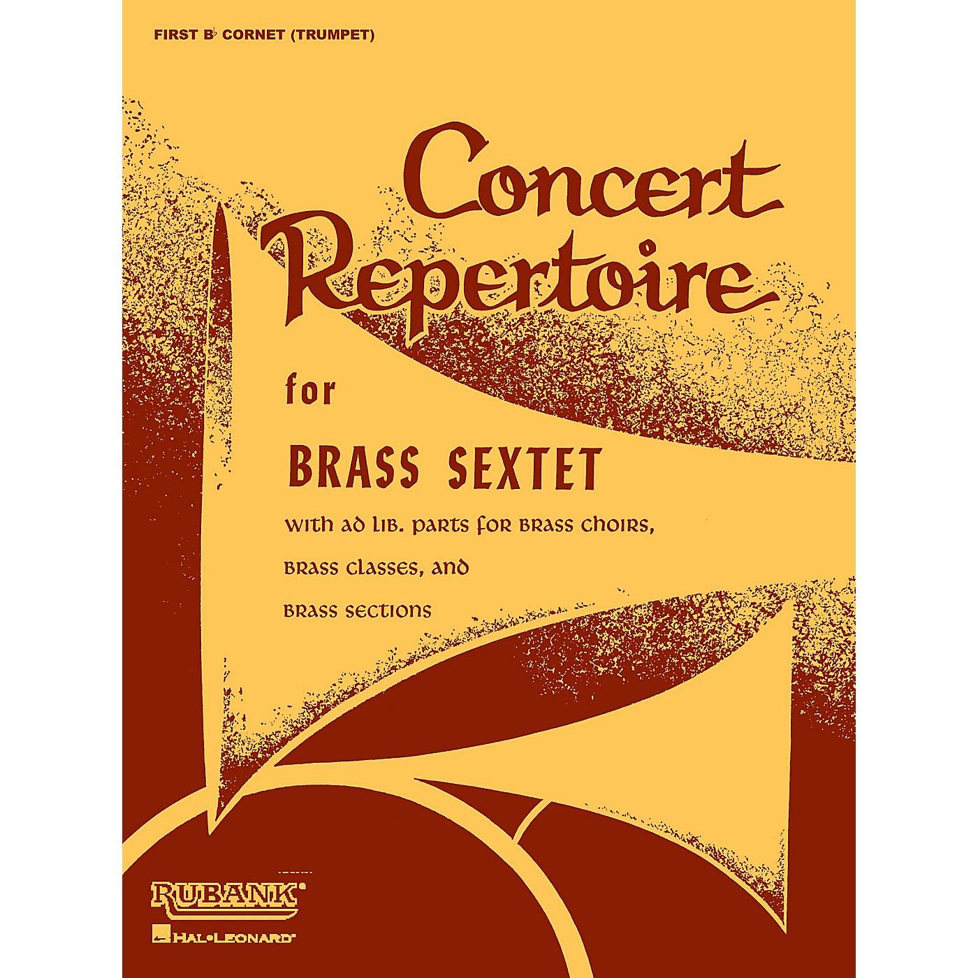 Rubank Publications Concert Repertoire for Brass Sextet (Baritone B.C. (5th Part)) Ensemble Collection Series thumbnail
