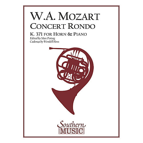 Southern Concert Rondo, K371 (in F) (Horn) Southern Music Series Arranged by Max Pottag & Hoss thumbnail