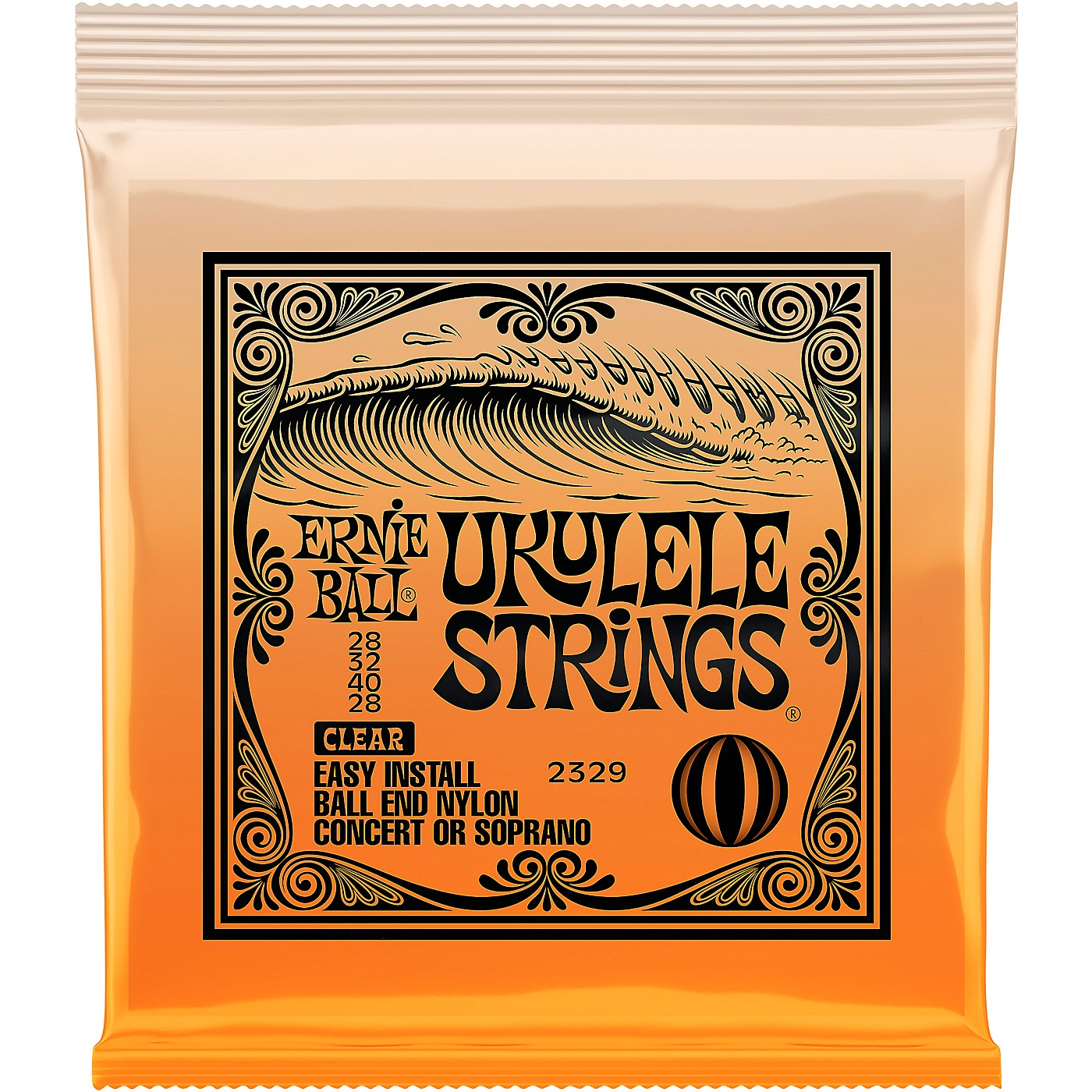 Ernie Ball Concert/Soprano Nylon Ball-End Ukulele Strings thumbnail