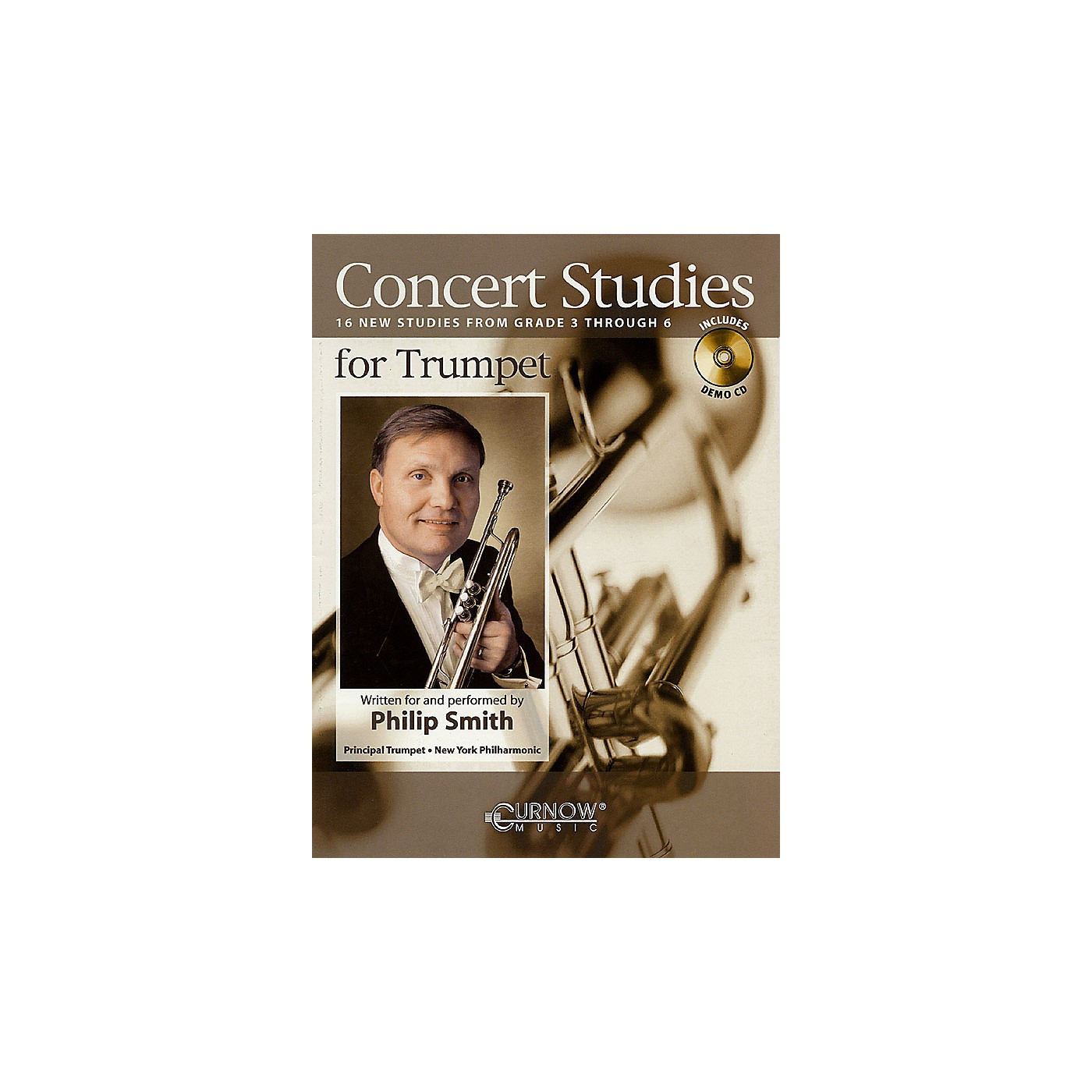 Curnow Music Concert Studies for Trumpet (Grade 3-6) Concert Band Level 3-6 performed by Philip Smith thumbnail