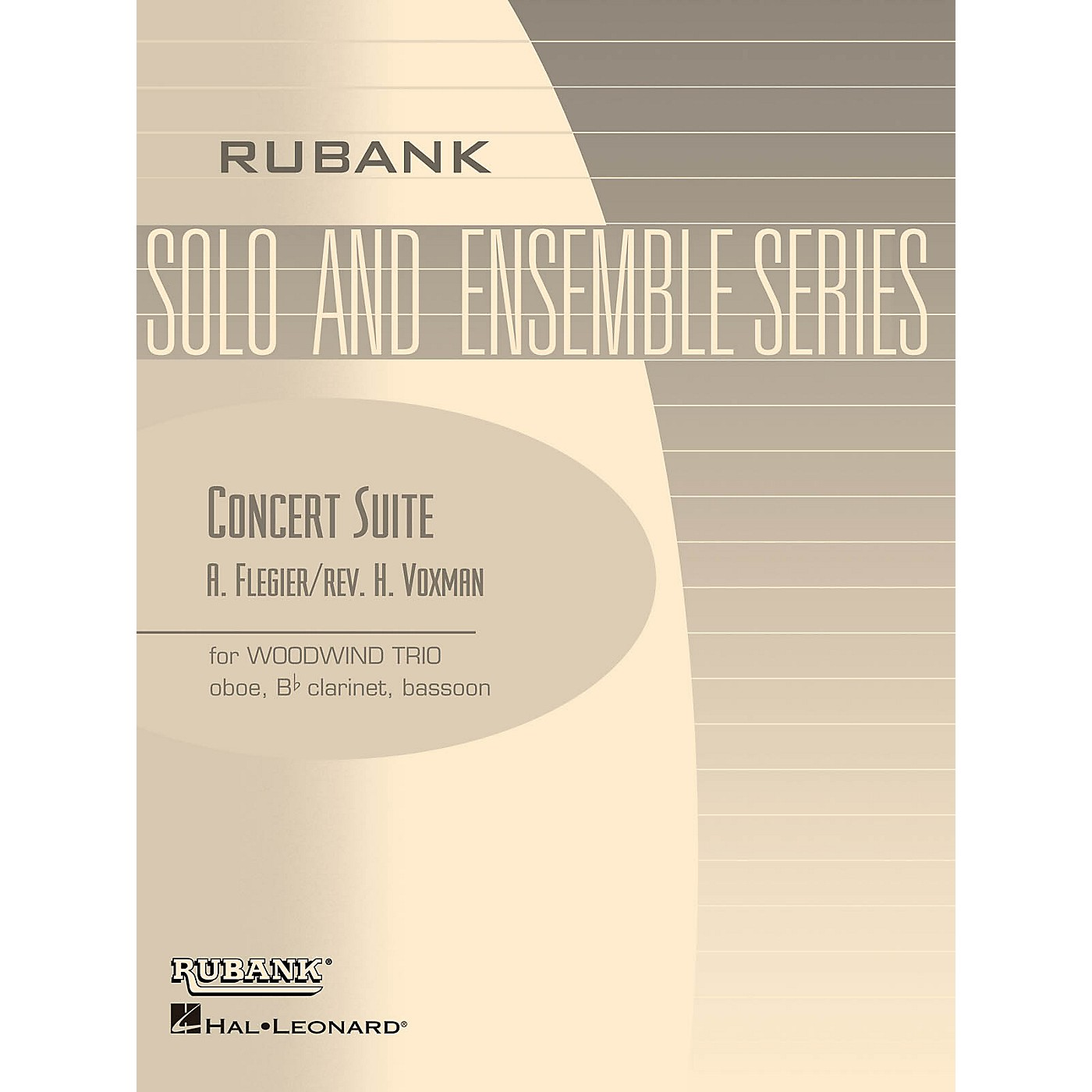 Rubank Publications Concert Suite (Woodwind Trio - Grade 4) Rubank Solo/Ensemble Sheet Series thumbnail