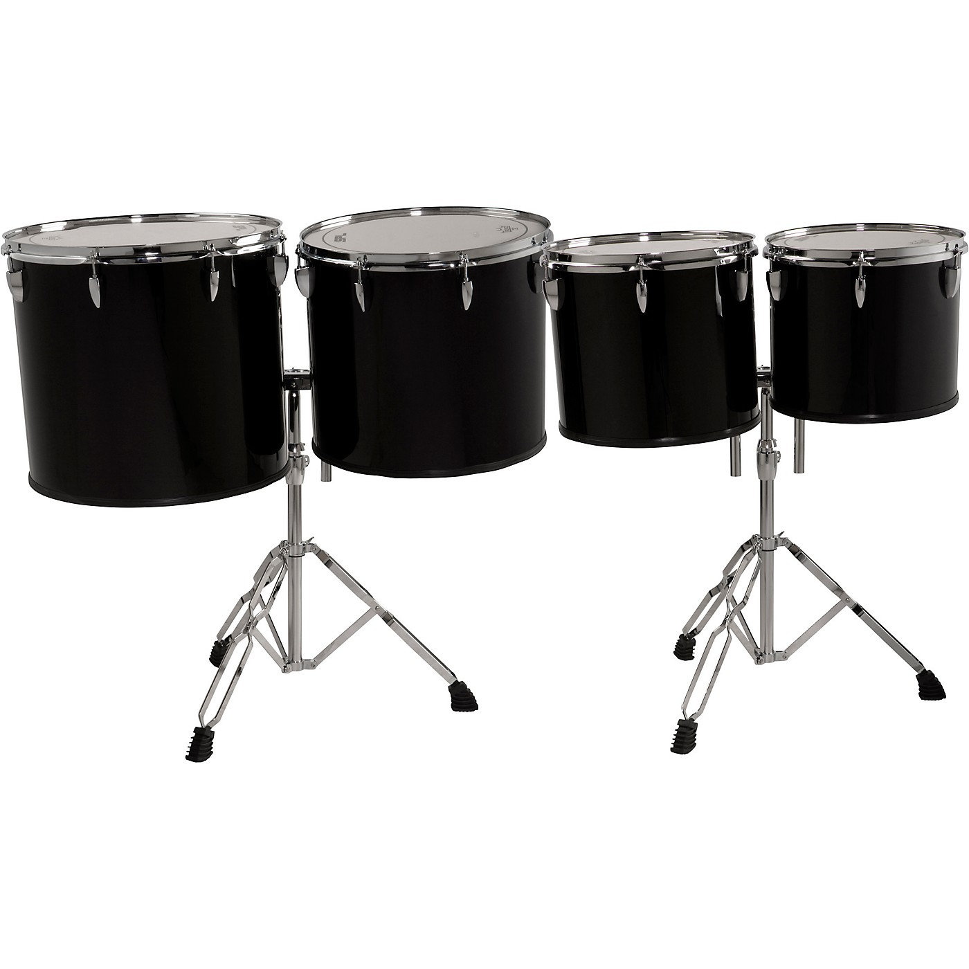 Sound Percussion Labs Concert Tom Set 13, 14, 16 and 18 with Two Stands thumbnail
