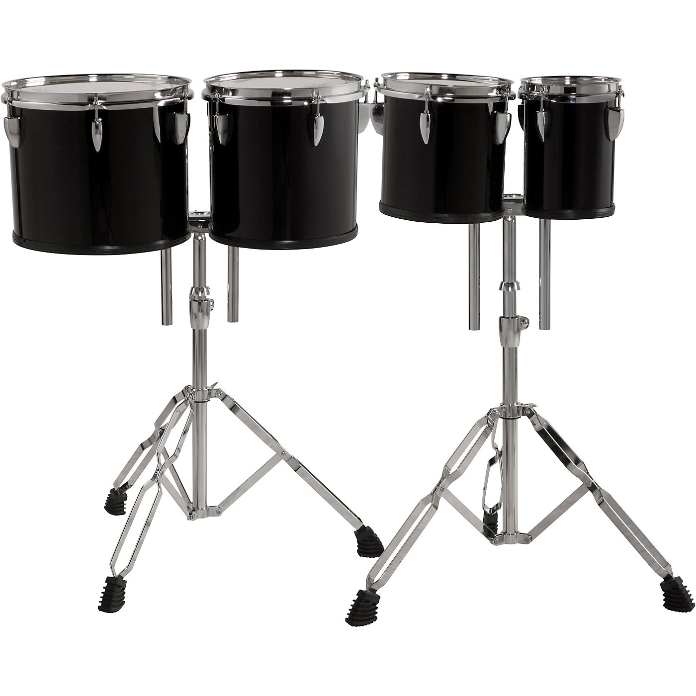 Sound Percussion Labs Concert Tom Set 6, 8, 10 and 12 with Two Stands thumbnail