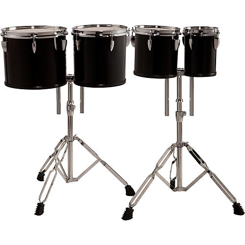 Sound Percussion Labs Concert Tom Set with Stands, 6, 8, 10 and 12 in. thumbnail