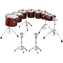 Yamaha Concert Tom Set with WS860A Stand