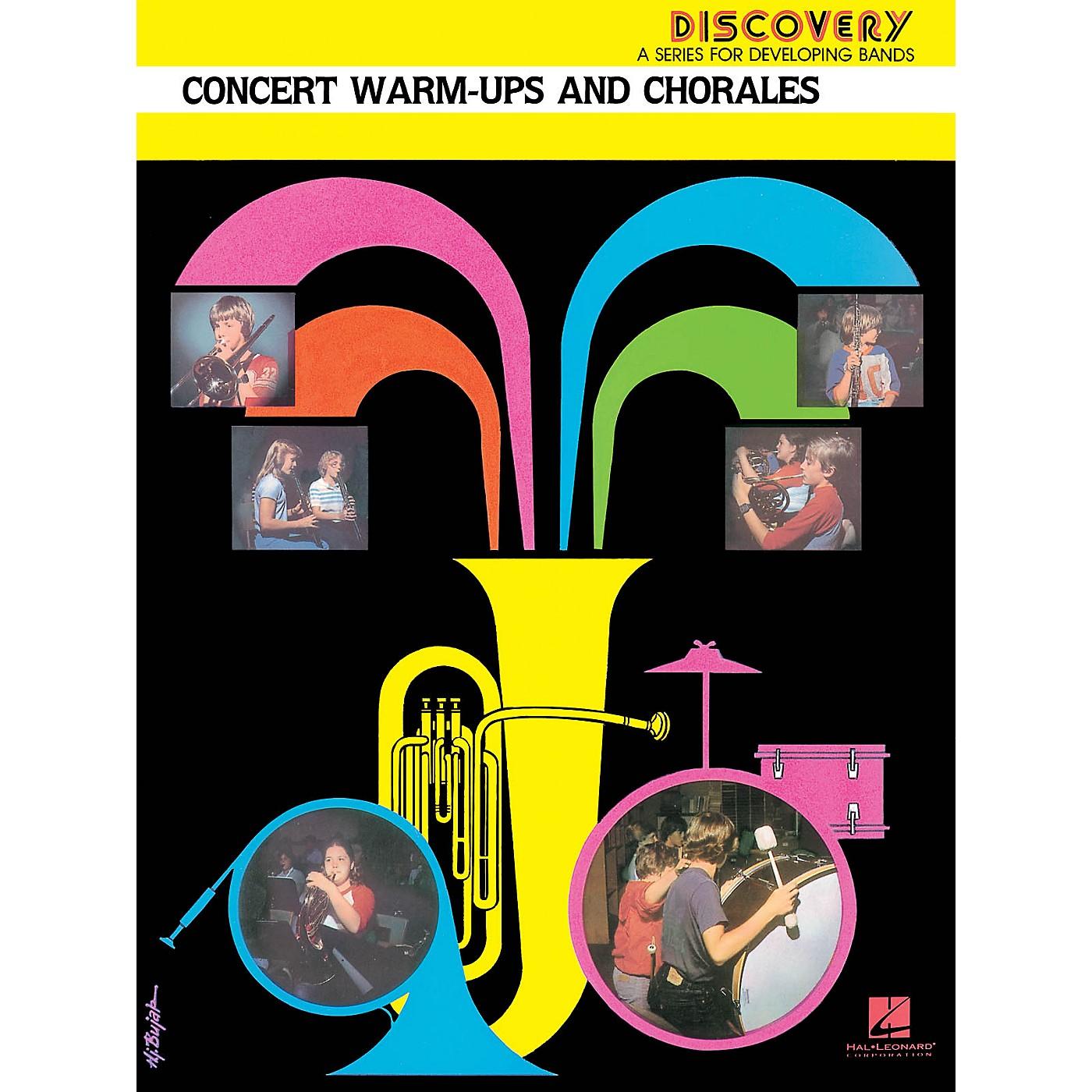 Hal Leonard Concert Warm-Ups and Chorales Concert Band Level 1.5 Arranged by John Edmondson thumbnail