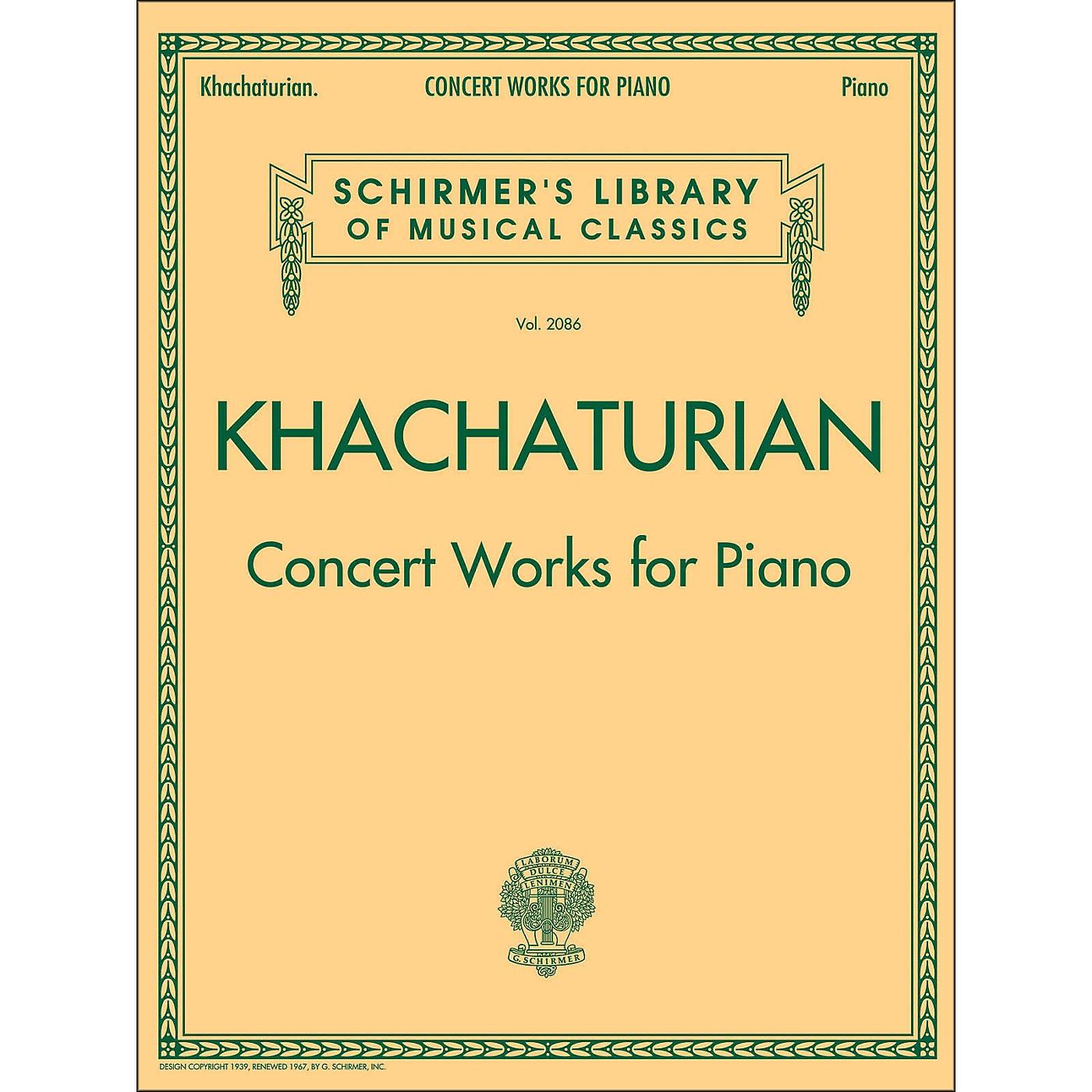 G. Schirmer Concert Works for Piano - Schirmer Library By Khachaturian thumbnail
