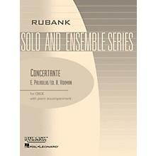 Rubank Publications Concertante (Oboe Solo with Piano - Grade 4.5) Rubank Solo/Ensemble Sheet Series