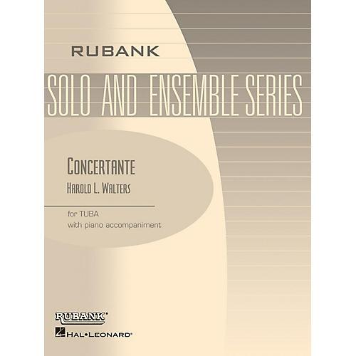 Rubank Publications Concertante (Tuba Solo in C (B.C.) with Piano - Grade 4) Rubank Solo/Ensemble Sheet Series Softcover thumbnail