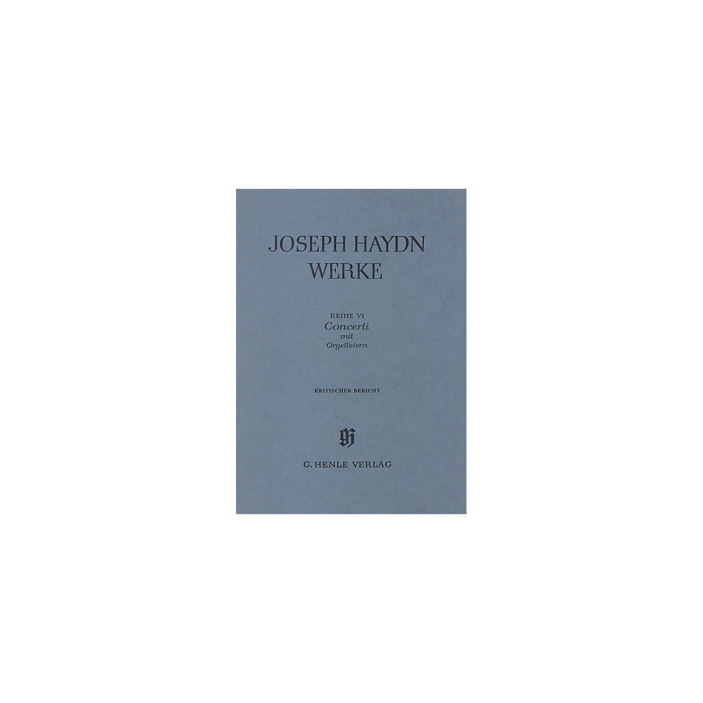 G. Henle Verlag Concerti with Organ Flute-cimbals Henle Edition Series Hardcover thumbnail