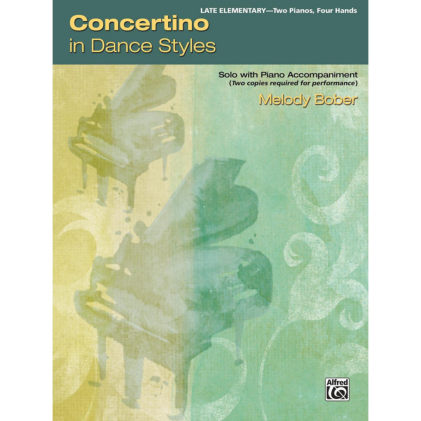 Alfred Concertino in Dance Styles 2 copies required Late Elementary thumbnail