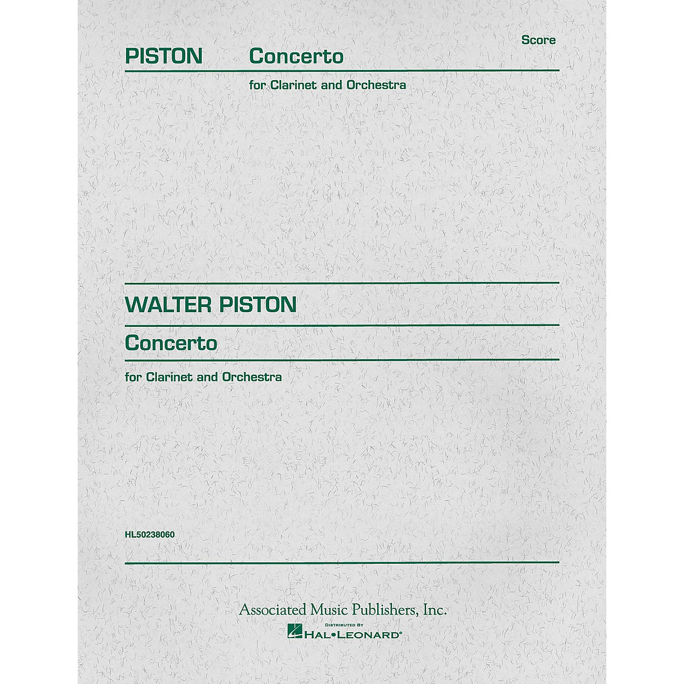 Associated Concerto (1967) (Full Score) Study Score Series Composed by Walter Piston thumbnail