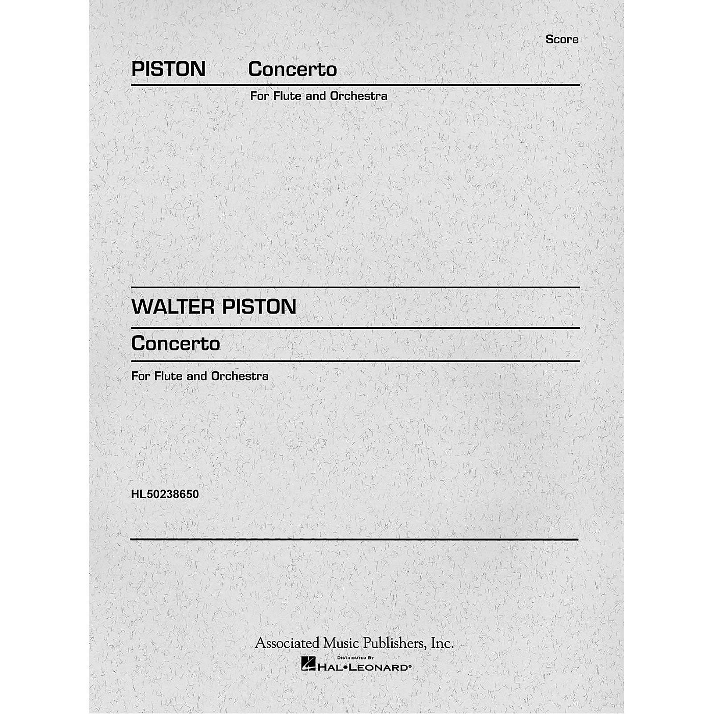 Associated Concerto (1971) (Miniature Full Score) Study Score Series Composed by Walter Piston thumbnail