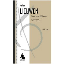 Lauren Keiser Music Publishing Concerto Alfresco for Trumpet and Large Orchestra - Full Score LKM Music Softcover by Peter Lieuwen