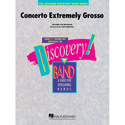 Hal Leonard Concerto Extremely Grosso Concert Band Level 1.5 Composed by David Marshall thumbnail
